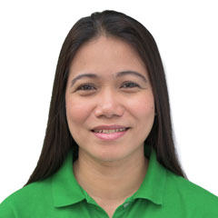 Headshot of Mylene Lagman - Resource Mobilization Manager of Childhope team