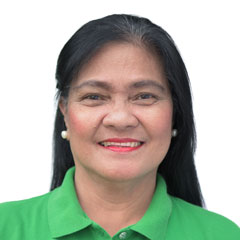 Headshot of Luisa Delos Santos - Administrative Assistant