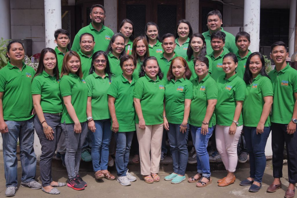 Childhope team – NGO for children in the Philippines