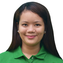 Headshot of Mary Joy Tambiado, RSW - Street Educator of Street Education & Protection Unit