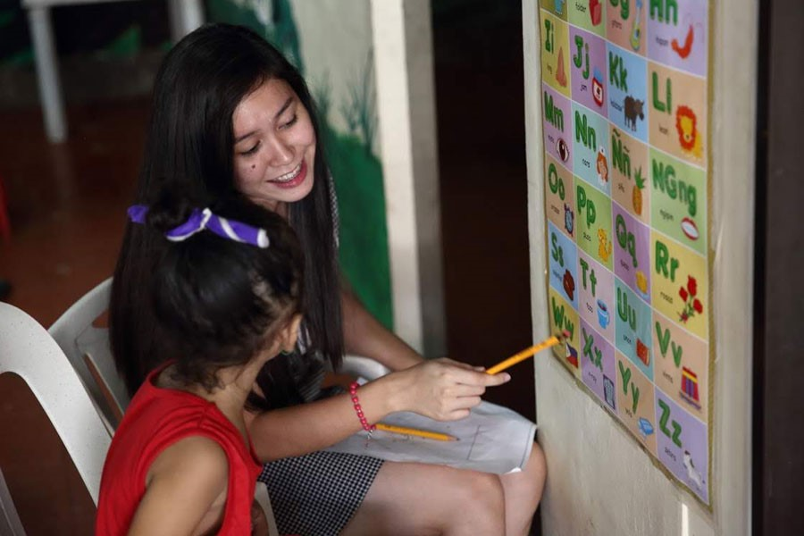 Be the Hope of the Out-of-School Youth in the Philippines through Education
