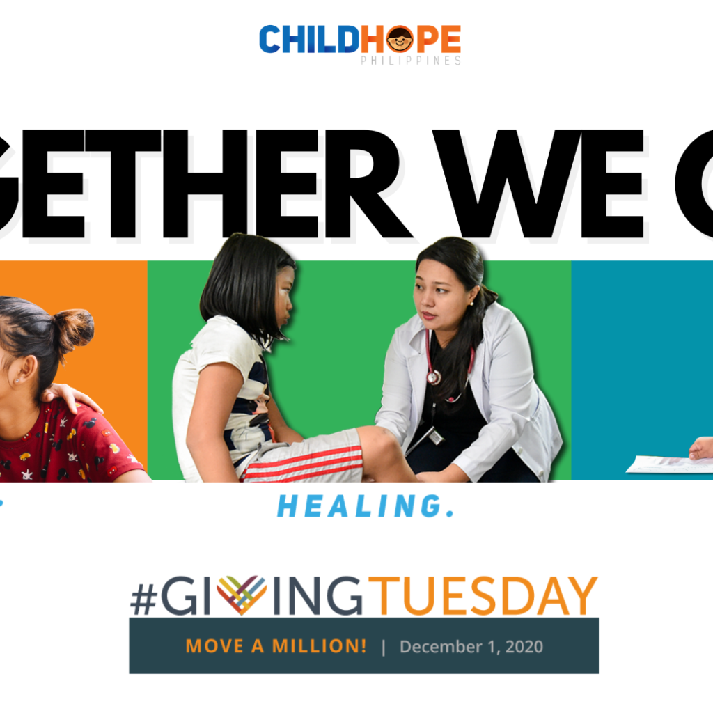 Childhope Philippines launched its campaign for street children, Giving Tuesday