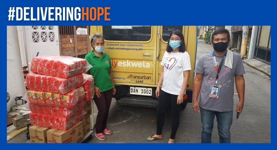 Childhope Philippines' Outreach Program for #DeliveringHope project