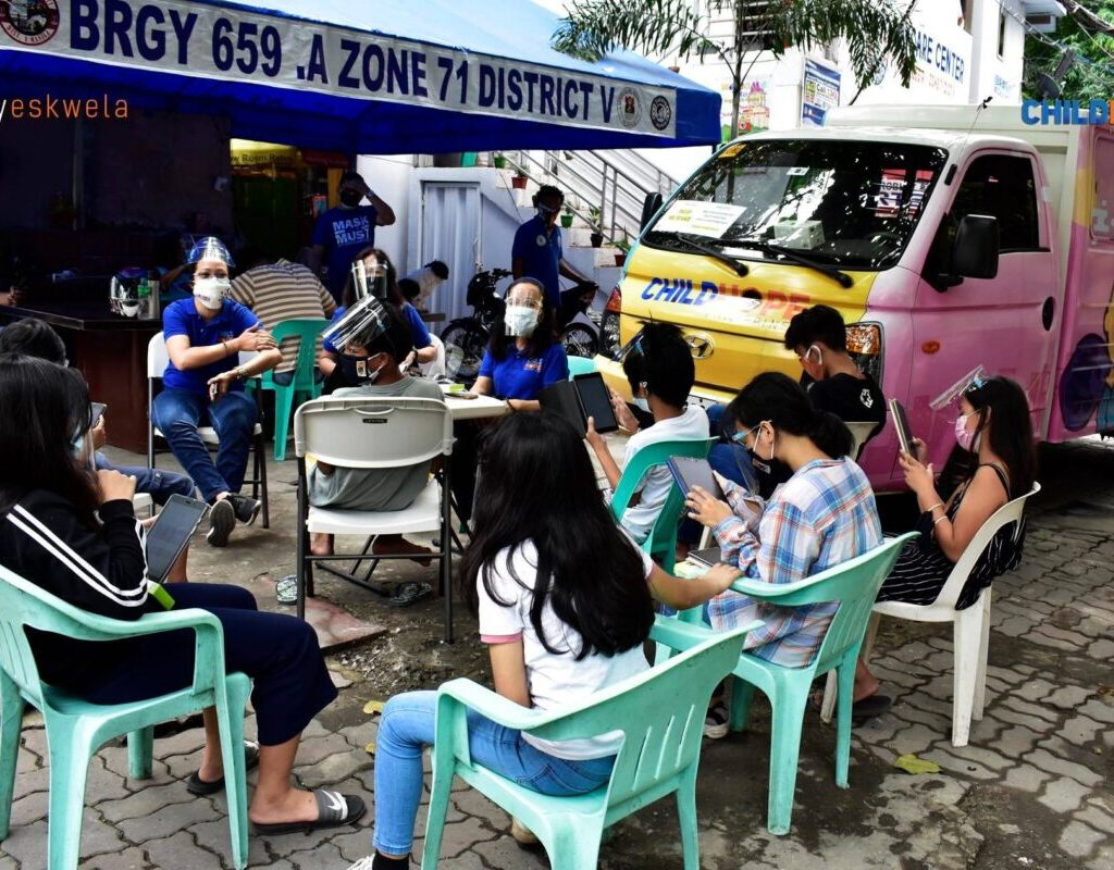Childhope Philippines' project, KalyEskwela, is example of non-formal education