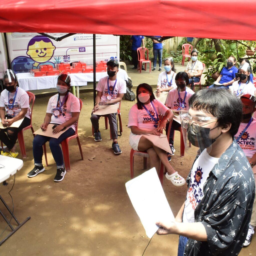 Childhope Philippines' Street Youth Empowerment Program